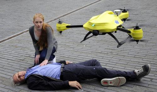 هولندا.. أول طائرة إسعاف بدون طيار