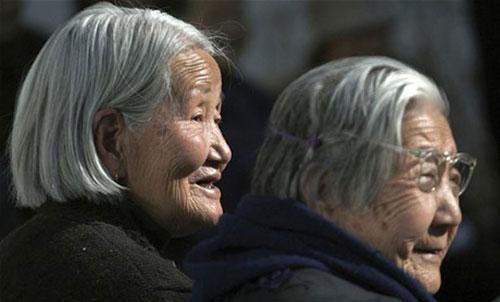 المعمرون الصينيون المتجاوزون لمائة عام يبلغ عددهم نحو 59 ألفا