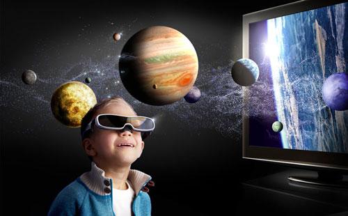 الصور ثلاثية الأبعاد خطرة على الأطفال