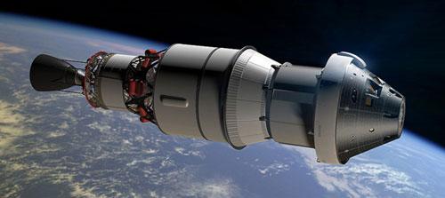 رحلة تجريبية لمركبة الفضاء «اورايون»