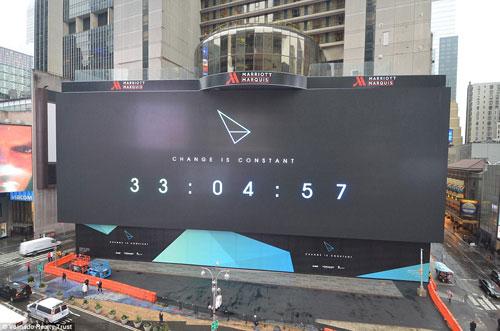 """تدشين أكبر شاشة رقمية في العالم في """"تايمز سكوير"""""""