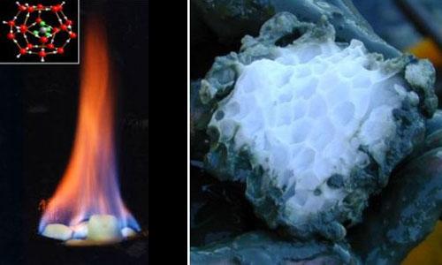 Une nouvelle forme de glace pour produire et stocker de l'énergie