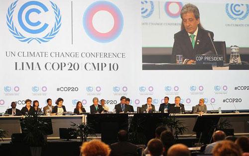 اتفاق بشأن سبل مواجهة التغير المناخي في العالم