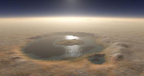 Mars' Gale Crater once held massive lake, NASA says