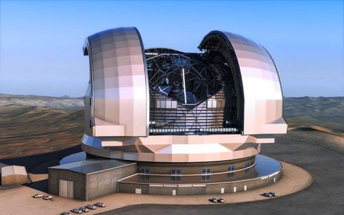 أكبر تلسكوب أرضي سيرى النور بعد 10 سنوات