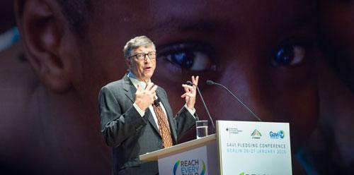 بيل غيتس ومبادرة المواطن العالمي
