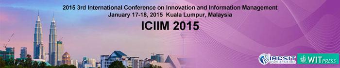 المؤتمر الدولي الثالث حول الابتكار وإدارة المعلومات