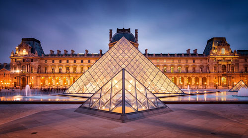 متحف اللوفر الأكثر روادا في العالم
