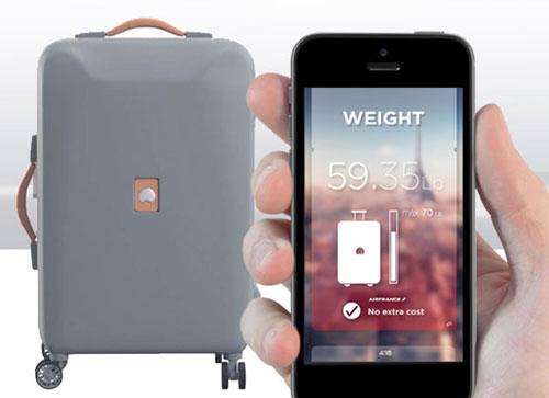 حقيبة سفر ذكية تشحن الهاتف وتتنبأ بالطقس