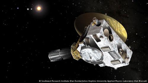 المسبار الفضائي (نيو هوريزونس) من وكالة ناسا، والذي بدأ رحلته في سنة 2006، سيصل إلى أقرب نقطة ممكنة من كوكب بلوتو في شهر يوليو القادم، قاطعا مسافة قدرها 4.8 مليون كلم عن الأرض. وسيرسل المسبار صورا وأفلاما عن قرب توثق لأول مرة أوضاع هذا الكوكب البعيد.