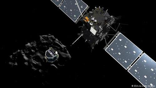 أما المسبار روزيتا من وكالة الفضاء الأوربية فسيستمر هو الآخر في رحلته هذا العام لاستكشاف المذنب تشورغوموف غيراسيمنكو الذي هبط عليه في شهر نوفمبر الماضي، بعد أن قضى عشر سنوات في رحلته من الأرض.