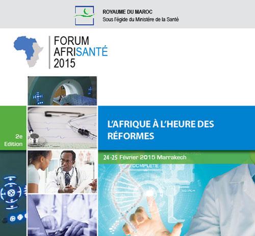 """مراكش تستضيف الدورة الثانية للمنتدى الإفريقي للصحة """"أفري سونتي"""""""