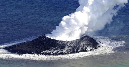 مناخ الأرض يتأثر بنشاط البراكين الواقعة في قاع المحيطات والبحار