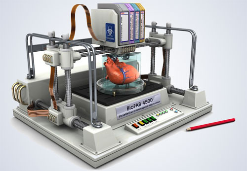 تقنية الطباعة الثلاثية الأبعاد تمهد لاستنساخ أعضاء بشرية