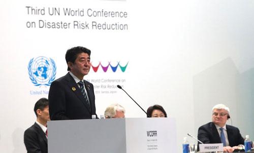 افتتاح المؤتمر العالمى الثالث للوقاية من الكوارث الطبيعية فى اليابان