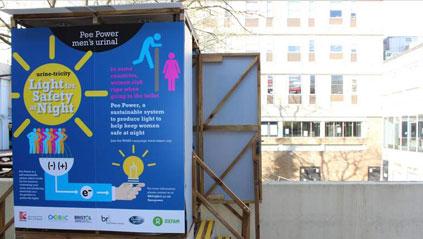 'Pee Power' Toilet Generates Electricity