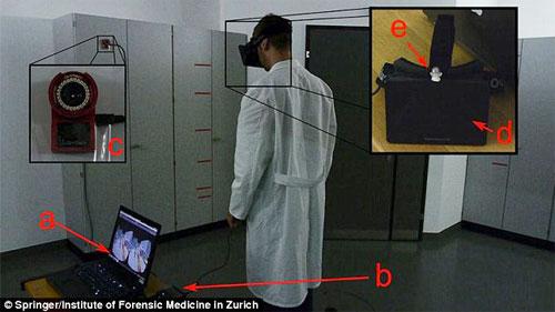 تقنية لتمثيل الجرائم ببعد ثلاثي