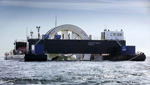 مشروع بريطاني لاستغلال مد وجزر البحر في توليد الطاقة الكهربائية