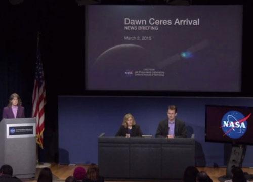 ناسا ترسل قمرا صناعيا لاكتشاف الكوكب القزم (سيريس)