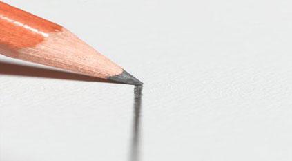 Pencil sketches turn paper into a sensor