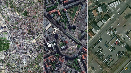 Satellite imagery can aid development projects