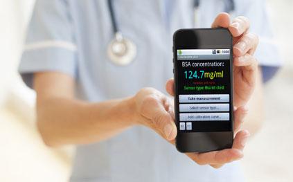 Health checks by smartphone raise privacy fears
