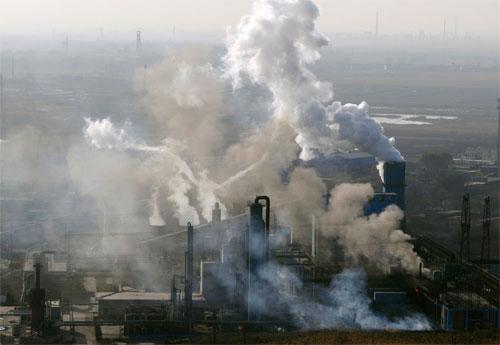 الصين قد تحتل مكان أمريكا بوصفها المسبب الاول للاحتباس الحراري