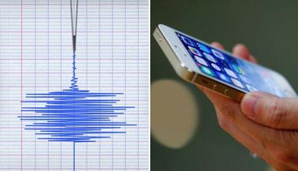 Les smartphones sont capables de donner l'alerte en cas de séisme