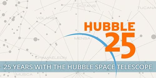 «هابل».. 25 عامًا من الدوران في الفضاء