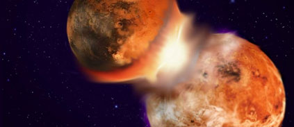 How did the moon really form?