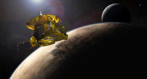 مسبار ناسا يقترب من كوكب بلوتو وأقماره