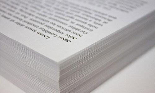 كم ورقة نحتاج لطباعة محتوى الانترنت؟
