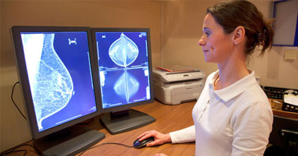 3-D technology detects 40 percent more breast cancers than mammography