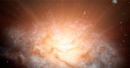 Voici la galaxie la plus lumineuse de l'Univers