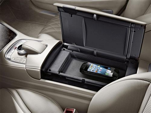 دايملر وكوالكوم تطوران تكنولوجيا لشحن الاجهزة لاسلكيا داخل السيارة
