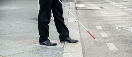 High-Tech 'Smart' Cane Helps Blind People Recognize Faces