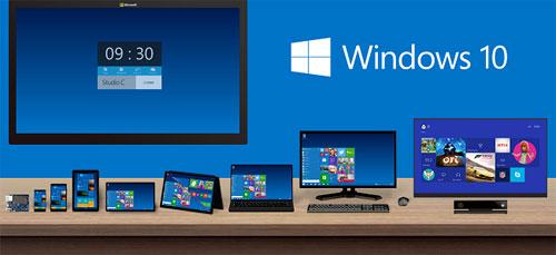 طرح 7 إصدارات مختلفة من نظام التشغيل «ويندوز 10»