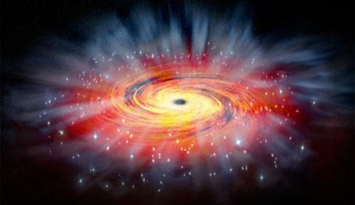 فلكيون يكتشفون 5 ثقوب سوداء عملاقة بالمجرات