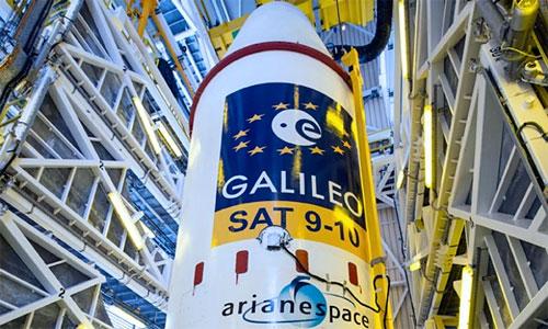 أوروبا تطلق قمرين صناعيين ضمن برنامج جاليليو