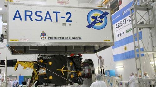 الأرجنتين تحتفي بإطلاق قمر اصطناعي ثان