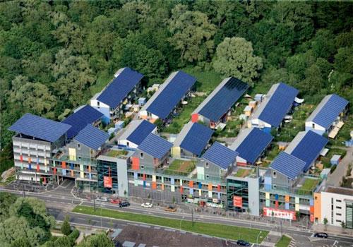 سفينة الشمس Sonnenschiff: المدينة التي تنتج أربعة أضعاف الطاقة التي تستهلكها!