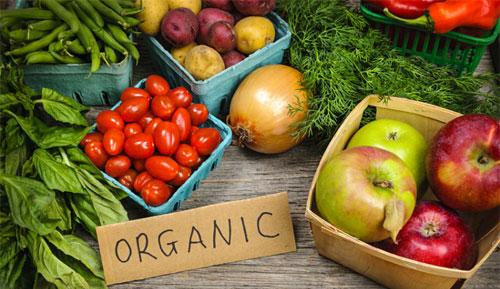 الفرق بين الأطعمة الطبيعية والعضوية