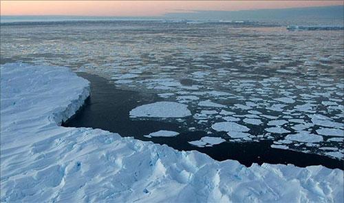 حرارة قياسية في القطب الشمالي