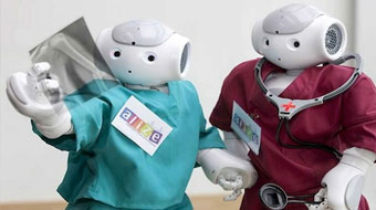 Robots in medicine and education