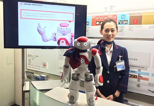اليابان توظف الروبوت «ناو» لمساعدة المسافرين بطريقة مبتكرة