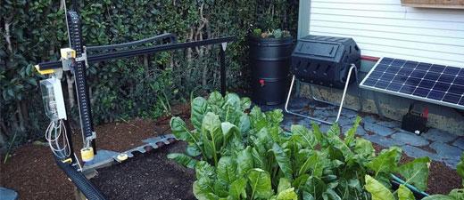 Farmbot, le robot qui va s'occuper de votre potager