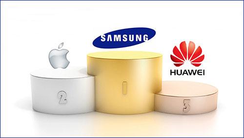 تقرير: سامسونج ما تزال تهيمن على سوق الهواتف وآبل تعاني وهواوي تصعد