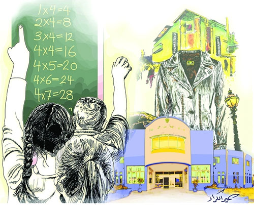 الأسواق وجودة المدارس