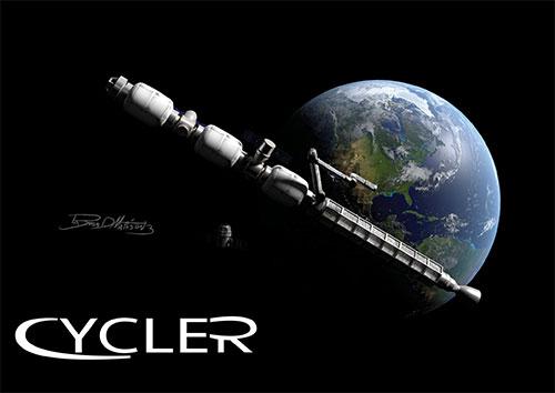 """""""سايكلر"""".. مركبة فضائية مستقبلية قد تنقل البشر إلى القمر خلال يومين"""