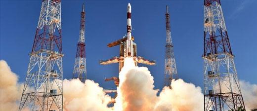 L'Inde parvient à envoyer 104 satellites dans une seule fusée